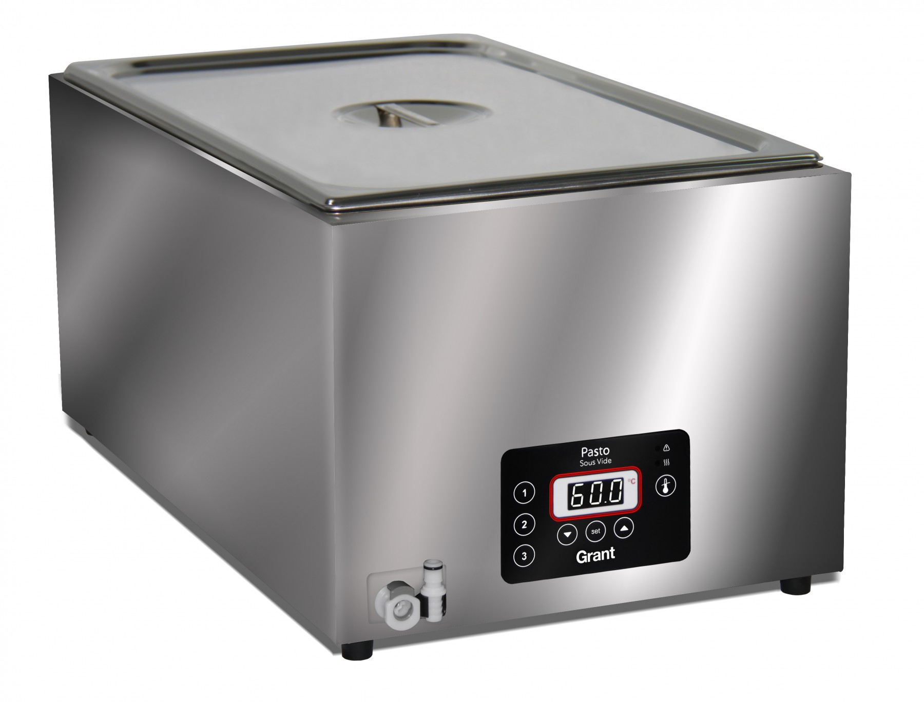 grant pasto 5 litre sous vide water bath uk catering equipment sales and advice. Black Bedroom Furniture Sets. Home Design Ideas