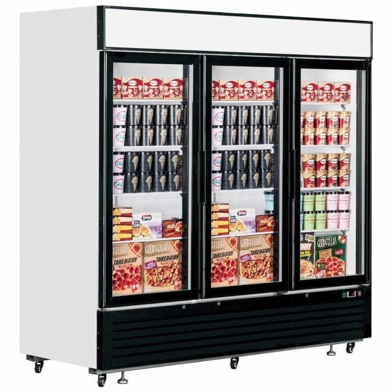 Lgf7500 Glass Door Display Freezer Upright Freezers Freezers