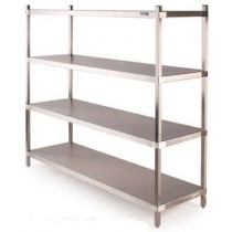 6S18PLH Six-S Stainless Steel Shelving System