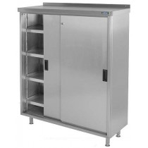 CH96FS4 Stainless Steel COSHH Cupboard