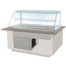 DCD4 Drop-in Deluxe Refrigerated Deli Display
