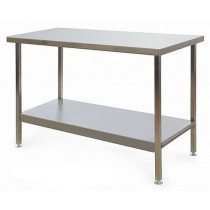F146CT Stainless Steel Folding Centre Table