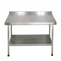 F20620Z Stainless Steel Midi Wall Table