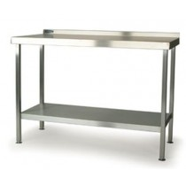 F176WB Stainless Steel Folding Wall Table
