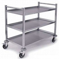 HT4 Heavy Duty Stainless Steel Trolley