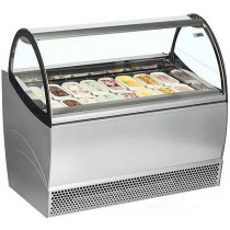 ISA Millennium SP16 Ice Cream Display - Stocked