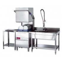 Maidaid MH2040D Commercial Pass Through Dishwasher