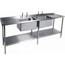 Catering Sink - SSU2465DBBD