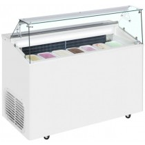 TOP 7E Ice Cream Display Freezer