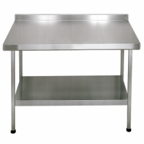 F20604Z Stainless Steel Midi Wall Table